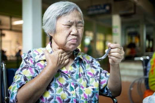 Complications of Swallowing Problem